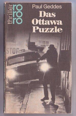 Bildtext: Das Ottawa Puzzle. Kriminalroman von Paul Geddes