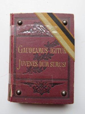 Allgemeines Deutsches Kommersbuch. (144. - 150. Auflage)  - Landsmannschaft im CC Württembergia zu Hohenheim mit Wappen und Band