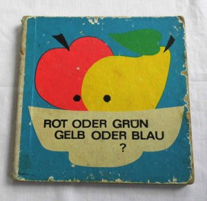 Rot oder Grün Gelb oder Blau - Altes Bilderbuch (1968)