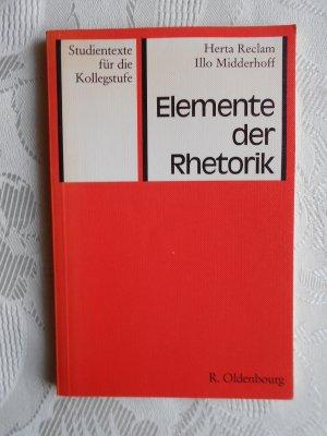 Elemente der Rhetorik