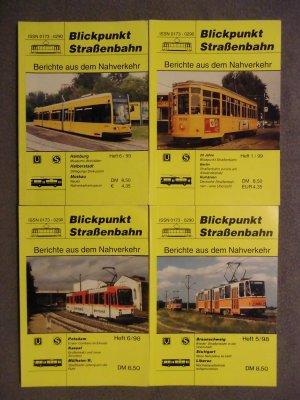 Blickpunkt Straßenbahn  -  Berichte aus dem Nahverkehr   ( 4 Hefte 98 / 99 )