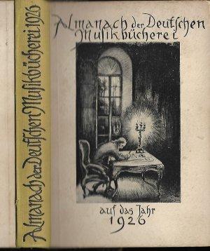 Almanach der Deutschen Musikbücherei auf das Jahr 1926