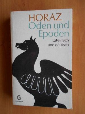 Oden und Epoden Lateinisch und deutsch