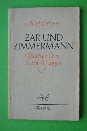 Zar und Zimmermann - Komische Oper