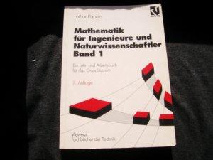 Mathematik für Ingenieure und Naturwissenschaftler Bd. 1