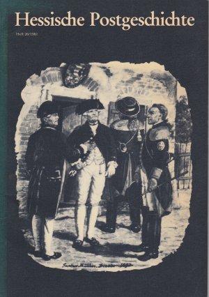 Hessische Postgeschichte, Heft 26/1981