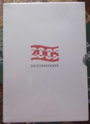 2005 ein Gedenkenjahr / Die großen Jubiläen / Quer durch Österreich  -  Die Zukunft der Vergangenheit-1945 1955 1995 2005 -Gedanken.Termine . Bücher