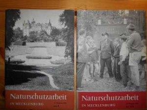 Naturschutzarbeit in Mecklenburg. Heft 3 1968 u. Heft 2/3 1969. (2 Hefte, zus. EURO 5,00 u. Porto EURO 2,10) Einzelpreis