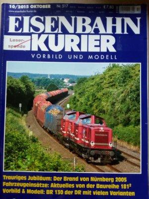 Eisenbahn Kurier, Heft 10/2015