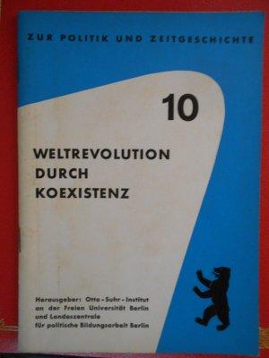 Weltrevolution durch Koexistenz