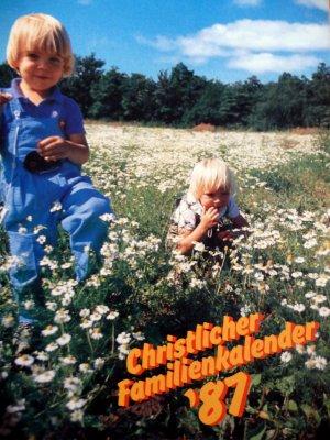 Christlicher Familienkalender 1987