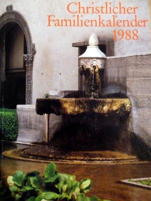 Christlicher Familienkalender 1988