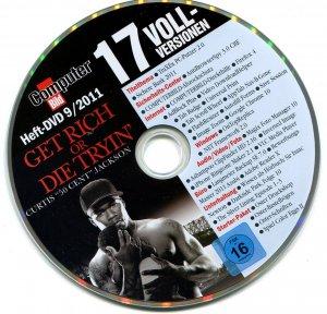 GET RICH OR DIE TRYIN   (Curtis **50 Cent** Jackson) Computer Bild  08/2011
