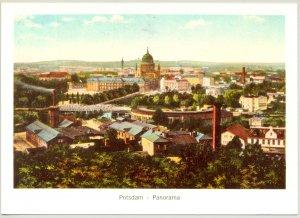 AK Color Potsdam Panorama vom Brauhausberg mit Nikolaikirche um 1910 Reprint