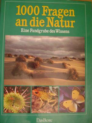 Bildtext: 1000 Fragen an die Natur von