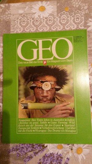 Geo Nr.12 / Dezember 1978. Indien - Game Farming - Saarland - Neuguinea - Meeresbiologie - Nicaragua