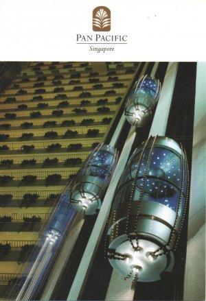 Postkarte: Pan Pacific Hotel , Singapur (Singapore)
