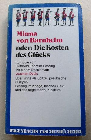 Minna von Barnhelm oder: Die Kosten des Glücks