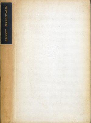 Bildtext: Erzählungen und Texte um Nichts - Der Ausgestoßene. Das Beruhigungsmittel. Das Ende. Texte um Nichts von Beckett, Samuel