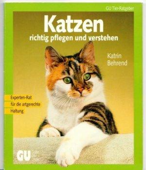 Bildtext: Katzen richtig pflegen und verstehen von Behrend, Katrin
