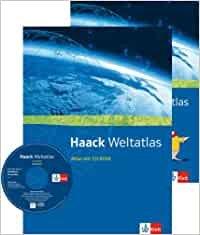 Bildtext: Haack Weltatlas. Allgemeine Ausgabe Sekundarstufe I und II - Atlas mit CD-ROM und Arbeitsheft Kartenlesen Klasse 5-13 von