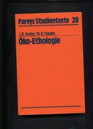 """04b721462f9be9 Öko-Ethologie"""" (Krebs JR und Davies) – Buch Erstausgabe kaufen ..."""