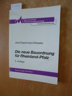 Die Neue Bauordnung Fur Rheinland Pfalz Textausgabe Der Lbauo