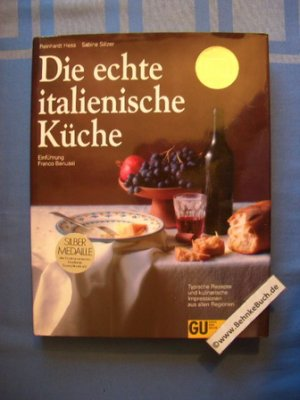 """Die echte italienische Küche"""" (Reinhard Hess und Sälzer) – Buch ..."""