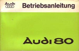 Audi 80 Audi Nsu Auto Union Ag Buch Gebraucht Kaufen