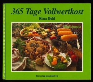 365 Tage Vollwertkost Klara Buhl Buch Erstausgabe Kaufen