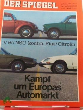 121969 Kampf Um Europas Automarkt Vwnsu Kontra Fiatcitroen