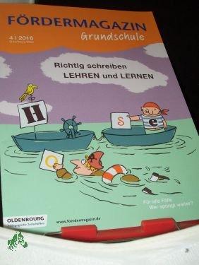 42016 Richtig Schreiben Lehren Und Lernen Fördermagazin