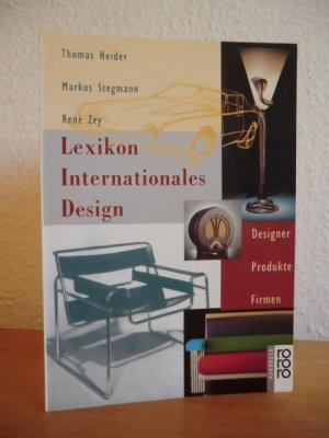 Designer Firmen lexikon internationales design heider buch gebraucht
