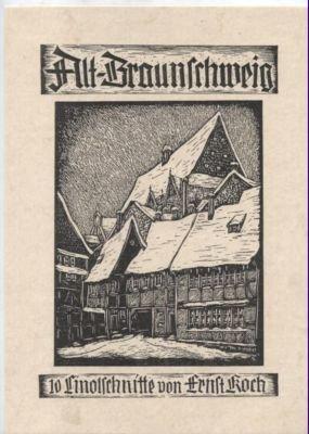 Alt Braunschweig Ernst Koch Buch Antiquarisch Kaufen