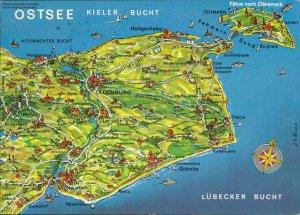 Ostsee Karte Kieler Bucht Lubecker Bucht Fahre Nach Danemark