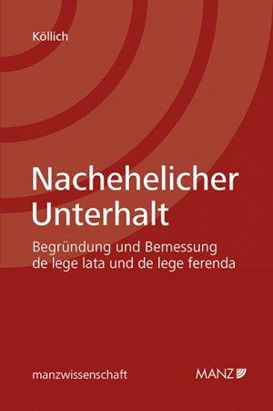 Nachehelicher Unterhalt Valentina Köllich Buch Antiquarisch