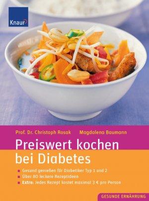 preiswert kochen bei diabetes rosak christoph baumann