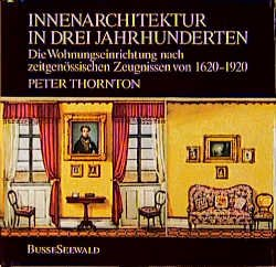 Isbn 3512007287 innenarchitektur in drei jahrhunderten for Innenarchitektur herford