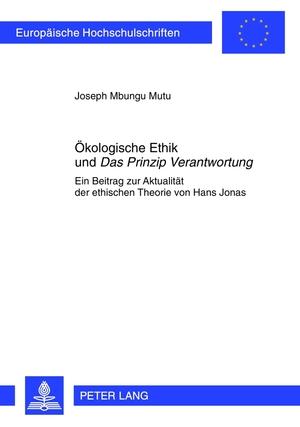 Isbn 9783631611340 Okologische Ethik Und Das Prinzip