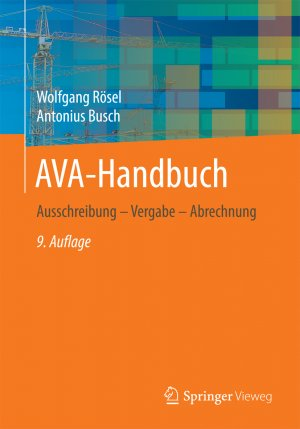 isbn 9783658150525 ava handbuch ausschreibung vergabe. Black Bedroom Furniture Sets. Home Design Ideas