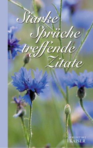 """Starke Sprüche   treffende Zitate"""" (Turnitz Gevon) – Buch"""