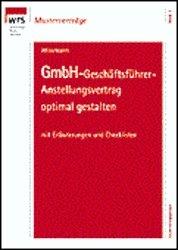Isbn 3809213551 Gmbh Geschäftsführer Anstellungsvertrag Neu