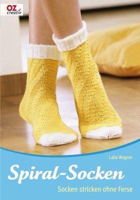 Spiral Socken Socken Stricken Ohne Ferse Laila Wagner Buch