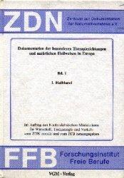 gebrauchtes Buch – Hauss, Werner Heinrich (Hg) – Dokumentation der besonderen Therapierichtungen und natürlichen Heilweisen in Europa - Band III - Therapiehindernisse