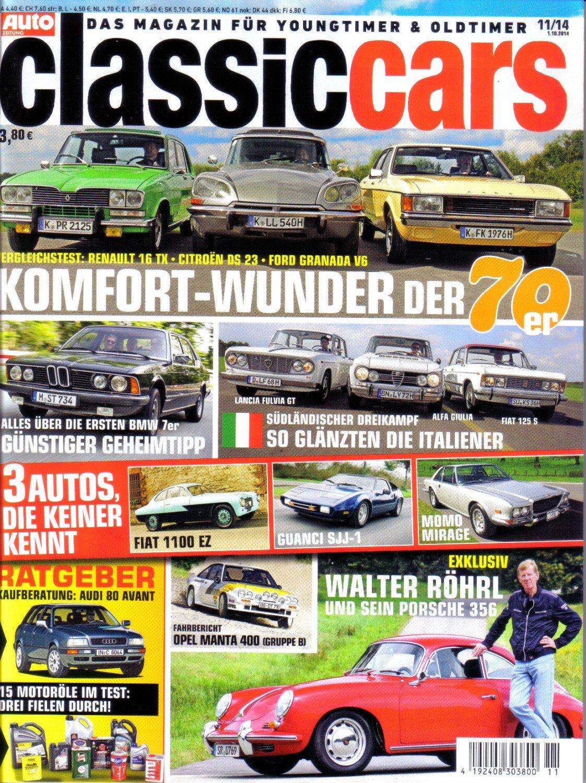 Classiccars Das Magazin Fur Youngtimer Oldtimer