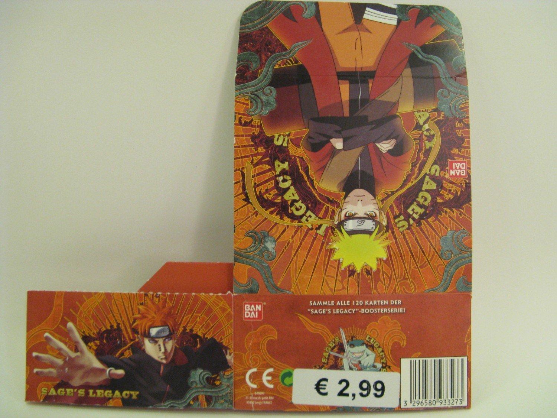Naruto Shippuden Karten.Naruto Shippuden Sages Legacy Box Leer