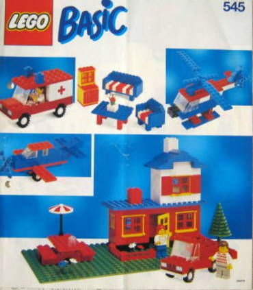 lego basic bauanleitung bauplan 545 set 1990 lego buch gebraucht kaufen a01e9uma01zzx. Black Bedroom Furniture Sets. Home Design Ideas