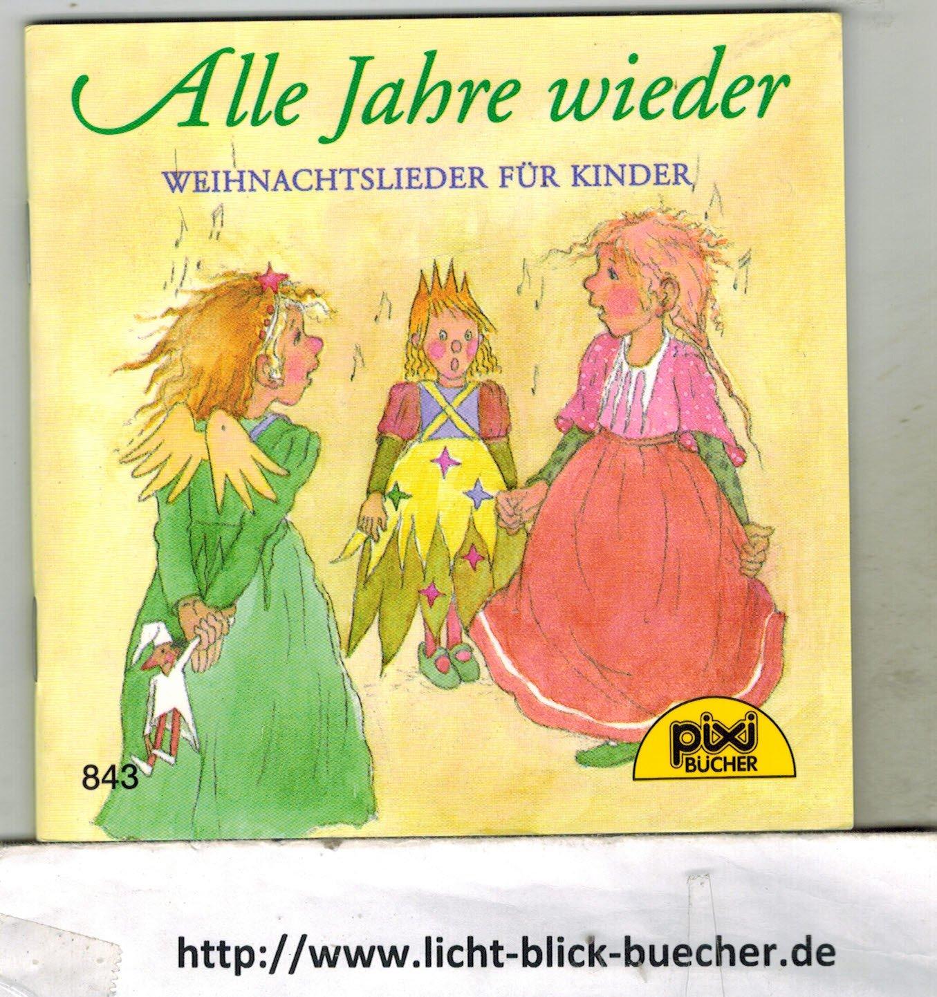 """Pixi Nr. 843 Alle Jahre wieder. Weihnachtslieder"""" – Bücher gebraucht ..."""