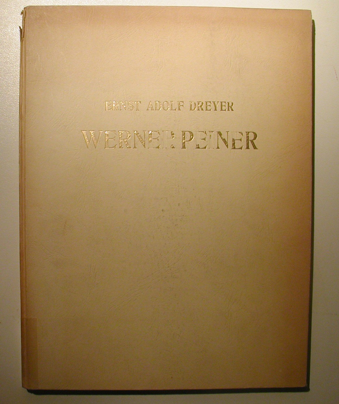 """Werner Peiner"""" (Dreyer Ernst Adolf) – Buch antiquarisch kaufen ..."""