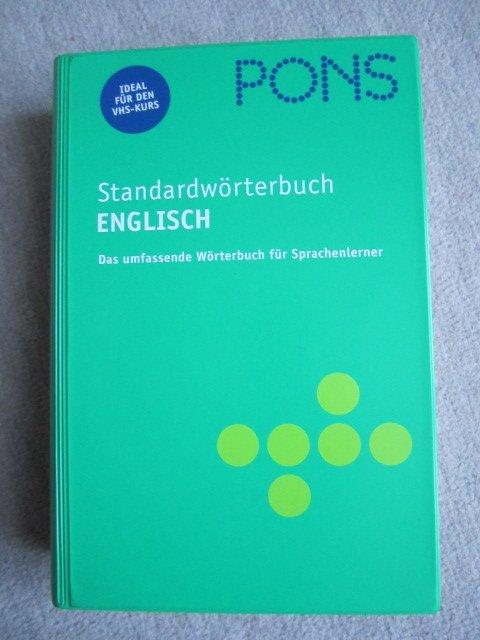 """""""PONS Standardwörterbuch Englisch Englisch-Deutsch  Deutsch-"""" – Bücher  gebraucht, antiquarisch   neu kaufen 7b0a96450a"""